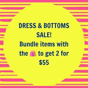 Dresses & Skirts - DRESS AND BOTTOMS SALE!